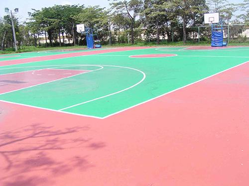 PU籃球場地坪