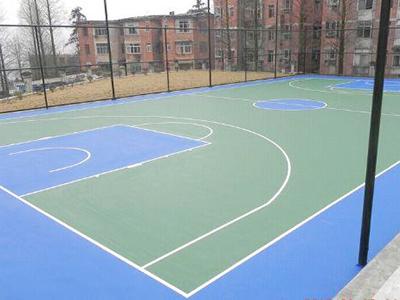 PU籃球場地坪(ping)