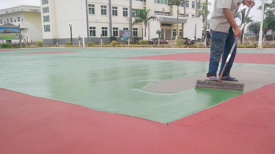 籃球場(chang)地坪漆